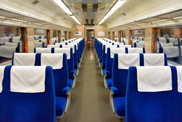 新幹線の車内イメージ写真