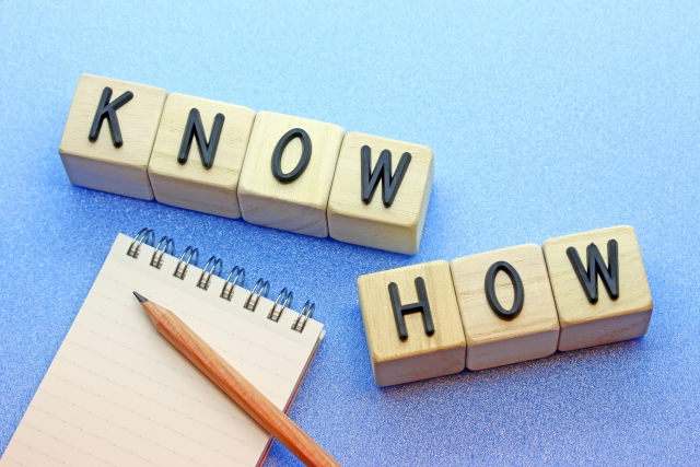 「KNOW HOW」のイメージカット