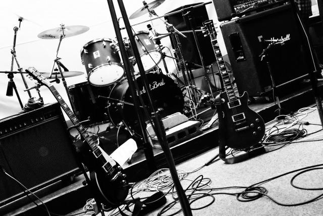 ドラムセットの写真