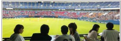 スポーツイベントパーティーのイメージ写真