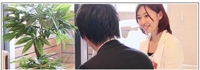 「1対1」の完全着席会話型の婚活パーティーのイメージ写真