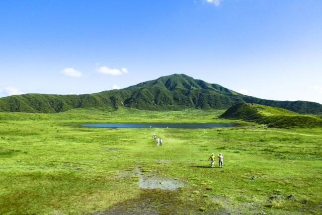阿蘇山のイメージ写真