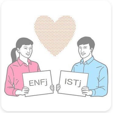 性格相性診断のイメージイラスト