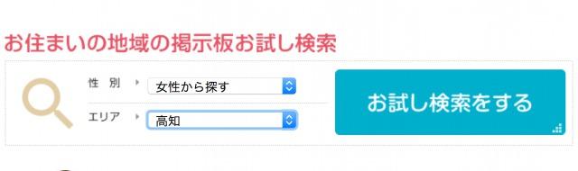お試し検索-高知県