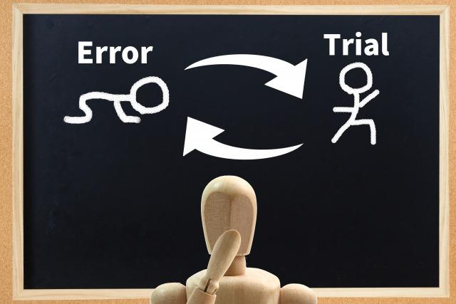 失敗は成功のもとのイメージ