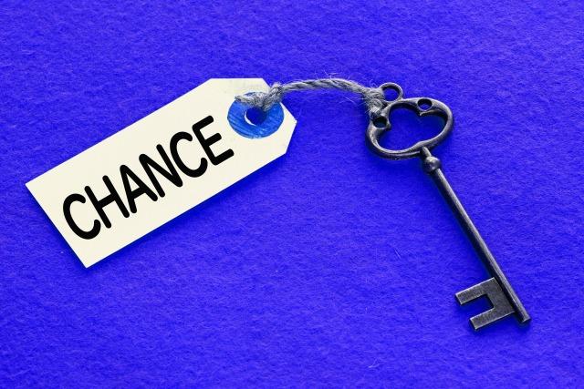 「チャンス」のイメージ