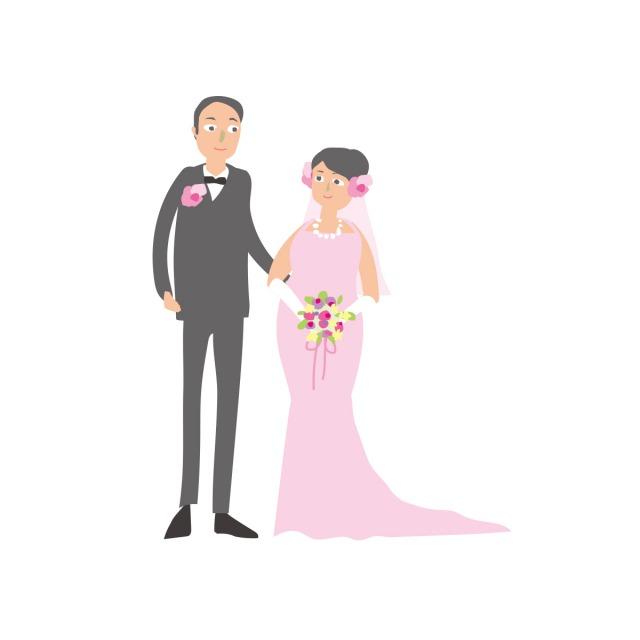 再婚カップル