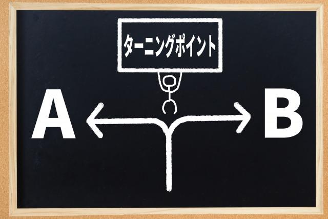 ターニングポイントの図
