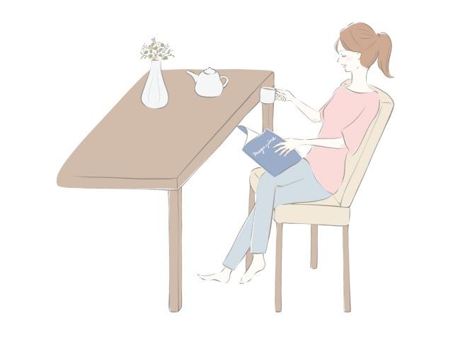 優雅な「一人時間」のイメージ