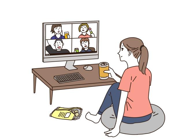 オンライン婚活パーティーのイメージ