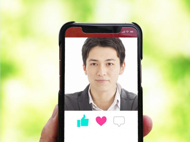 マッチングアプリの「お相手検索画面」のイメージ